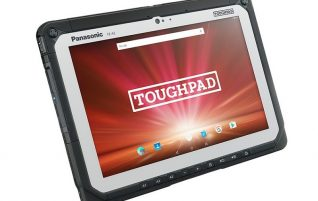 Panasonic ToughPad FZ-A2: The tablet for industrial use can use up with rubber gloves