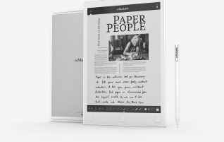 ReMarkable wants to be the notebook of the future: An electronic ink reader in which we can draw