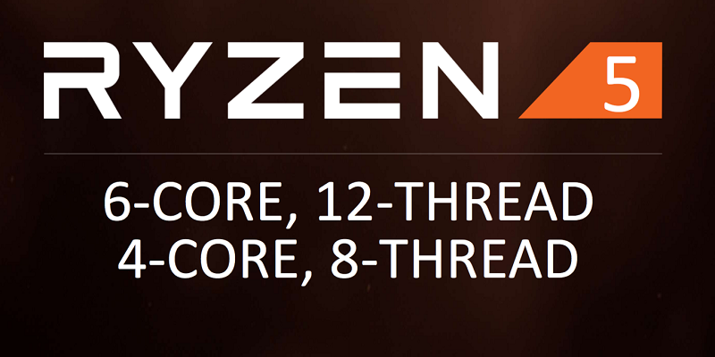 Ryzen 5: Six cores and 12 threads for less than $250