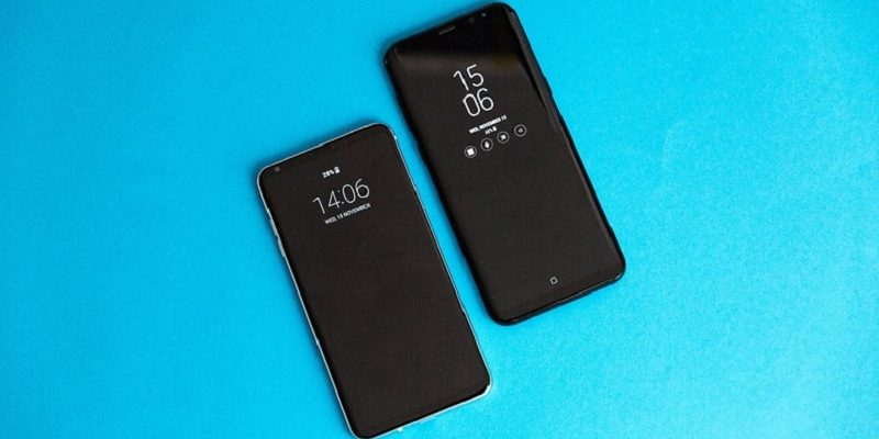 LG V30 vs Samsung Galaxy S8: High competition in the two references of design without frames