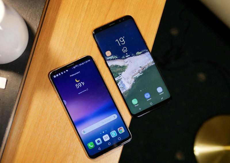 LG V30 vs Samsung Galaxy S8