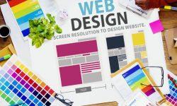 create the company website